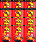 Gold Star Chili Chili Seasoning 2.25oz - 12 Packs