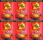 Gold Star Chili Chili Seasoning 2oz - 6 Packs