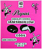 Papas Dark Chocolate Covered Marshmallow Eggs 40CT Box
