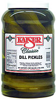 Kaiser Dill Pickles Gallon Jar