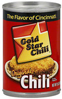 Gold Star Chili 15oz - 12 Cans
