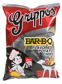 Grippos BBQ 12oz Bag 9ct