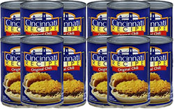 Cincinnati Recipe Original Chili 15oz - 12 Cans