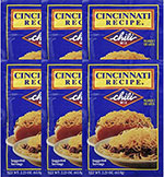 Cincinnati Recipe Chili Mix 2.25oz 6 Pack