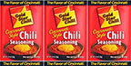 Gold Star Chili Chili Seasoning 2.25oz 3 Pack