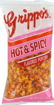 Grippos Hot n Spicy Popcorn 12ct