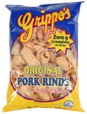 Grippos Plain Pork Rind 30ct Box