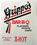 Grippos X Hot Potato Chips 1.5lb Box