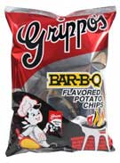 Grippos BBQ Potato Chips 12oz Bag 9ct Box