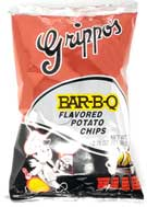 Grippos BBQ 2.75oz Bag 24ct