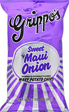 Grippos Sweet Maui Onion 4.5oz Bag 18ct Box