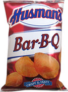 Husmans BBQ Potato Chips 1oz Bags 42 Count