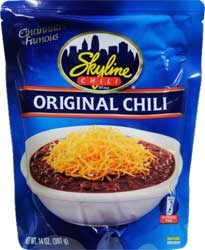 Skyline Chili Microwavable Pouch