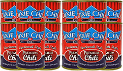 Dixie Chili 10oz 12 Cans