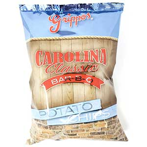 Grippos Carolina Classic BBQ 8oz Bag 12ct